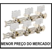 Par De Tarraxas Violão - Pino Grosso - Nylon - 1º Linha!