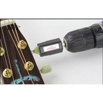Encordoador Corda Enrolador Furadeira Violão Guitarra Baixo
