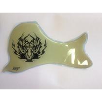 Escudo Rrp Para Violão Folk Tiger Tattoo