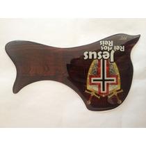 Escudo Rrp Para Violão Folk Ou Jumbo Jesus Rei Dos Reis