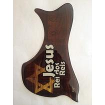 Escudo Rrp Para Violão Folk Ou Jumbo Jesus Rei Dos Reis 2