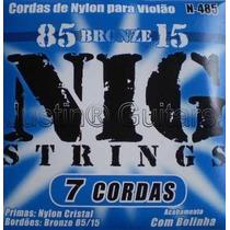 Cordas Nig Para Violão 7 Cordas Nylon Cristal - N485