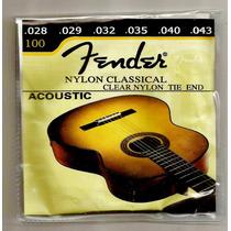 Encordoamento Nylon Violao Fender Importado Novo