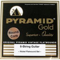 Encordoamento Em Aço Para Violão 7 Cordas Pyramid Gold