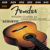 Cordas Nylon Violão - Fender Original + Brinde