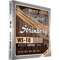 Encordoamento Aço Strinberg Ws10 P/ Violão