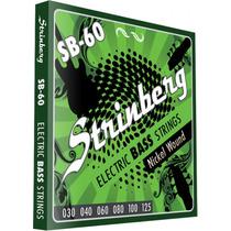 Encordoamento Strinberg Sb60 P/contrabaixo 6 Cordas Elétrico