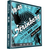 Encordoamento Strinberg Sb40 P/ Contra Baixo 4 Cordas