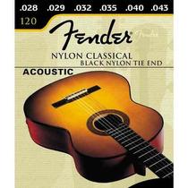 Encordamento Fender Violão Nylon Classico Frete Fixo!