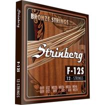 Encordoamento Strinberg Para Violão 12 Cordas F12s