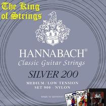Encordoamento ( Cordas ) Violão Hannabach 900 Mlt Silver 200