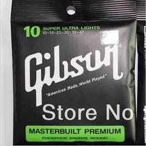 Encordoamento Violão Açõ Gibson Premium 010 (sensacio
