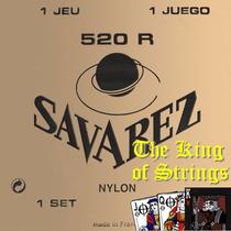 Encordoamento ( Cordas ) Para Violão Savarez 520r