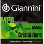 Encordoamento Giannin Violão Mpb Nylon Giannini Cristal Ouro