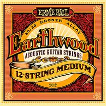 Encordoamento Violão 12 Cordas Aço 011 Ernie Ball Earthwood
