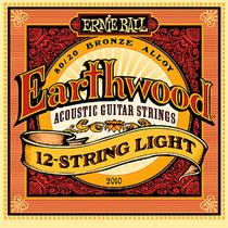 Encordoamento Violão 12 Cordas Aço 09 Ernie Ball Earthwood