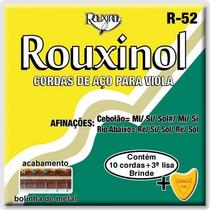 Encordoamento Para Viola 10 Cordas Rouxinol 011 R52