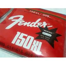 Jogo De Cordas De Guitarra Fender 150xl/009