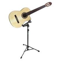 Pedestal P/violão C/ajuste P/corpo Do Instrumento Ask Ev1