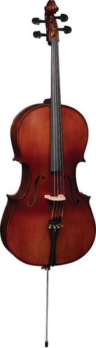 Violoncello Eagle Ce300 4/4 Tampo Maciço Acab Envel 1455