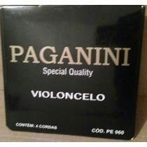 Encordoamento P/ Cello Paganini Frete Gratis