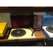Toca Disco Philips Portátil - Vitrola