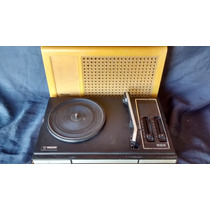 Vitrola Radiola Toca Disco Amarela Philips Antiga