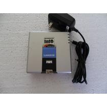 Adaptador Linksys Cisco Spa2102 Roteador Voip 2 Portas Usado