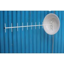 Kit Internet Rural Roteador Telsec 3g + Antena Cúbica 24bdi
