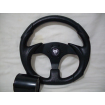 Volante Esportivo C/cubo Black,fusca,puma,jeep,gurgel,buggy