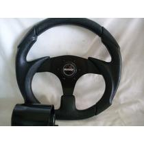 Volante Esportivo Black C/cubo,buggy,kadron,brm,baby,etc