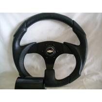 Volante Esportivo Black C/cubo,gm,corsa,astra,chevette,opala