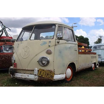 Vw Van Kombi 74 Pick Up Corujinha Estilo Hood Ride Lata Otim