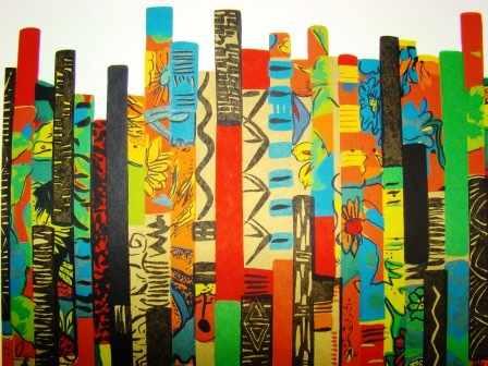 Volpi ( Ivâ ) Bambus Excepcional Serigrafia Iii