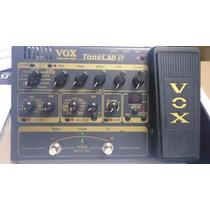 Tonelab St Pedaleira Valvulada Para Guitarra Vox