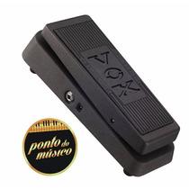 Pedal Wah Wah Vox V845 Autêntico - Tipo Cry Baby L O J A