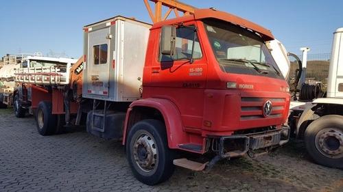 Vw 15-180 4x2 Ano 2008 Módulo Passageiros Munck Madal