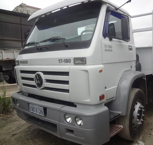 Vw 17180 Truck Basculante 5m3 Ecarroceria 2010