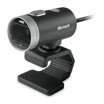Webcam Microsoft Usb 720p Hd 30fps H5d-00013 Frete Grátis