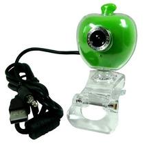 Webcam 10mp Apple Verde Alta Definição Usb Skype