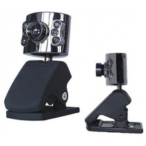 Webcam 2.0mp Usb C/ Microfone Led Noturno Pctop Cm-1001