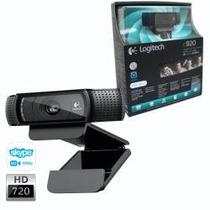 Webcam Logitech Hd Pro Webcam C920 - 1080p Full Hd - 15mp
