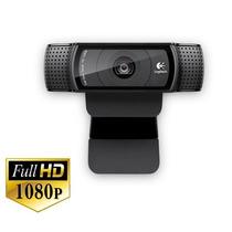 Webcam Full Hd C/ Lente Carl Zeiss - Logitech C920