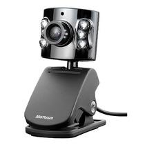 Webcam Usb Ajustável Visão Noturna E Microfone Multilaser