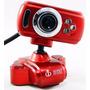 Webcam 16 Mp C/ Mic E 3 Leds Noturno Usb 2.0 Plug And Play