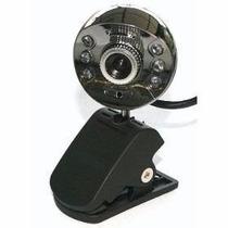 Webcam 12 Mega Pixel C/ Microfone 6 Leds Visão Windows 7 E 8