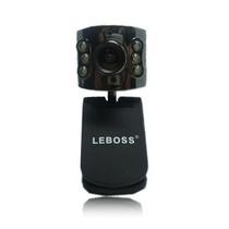 Webcam 16mp 3200*2400 Com Led Microfone Alta Definição Usb