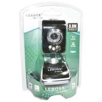 Webcam Leboss Le Gze 158 Com Microfone Alta Definição Usb Ms