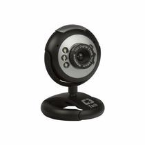 Webcam C3 Tech Usb C/ Led Visão Noturna 300k À 2.0m Wb2101