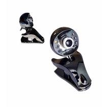 Web Cam Usb Com 6leds + Microfone + Visão Noturna Barata